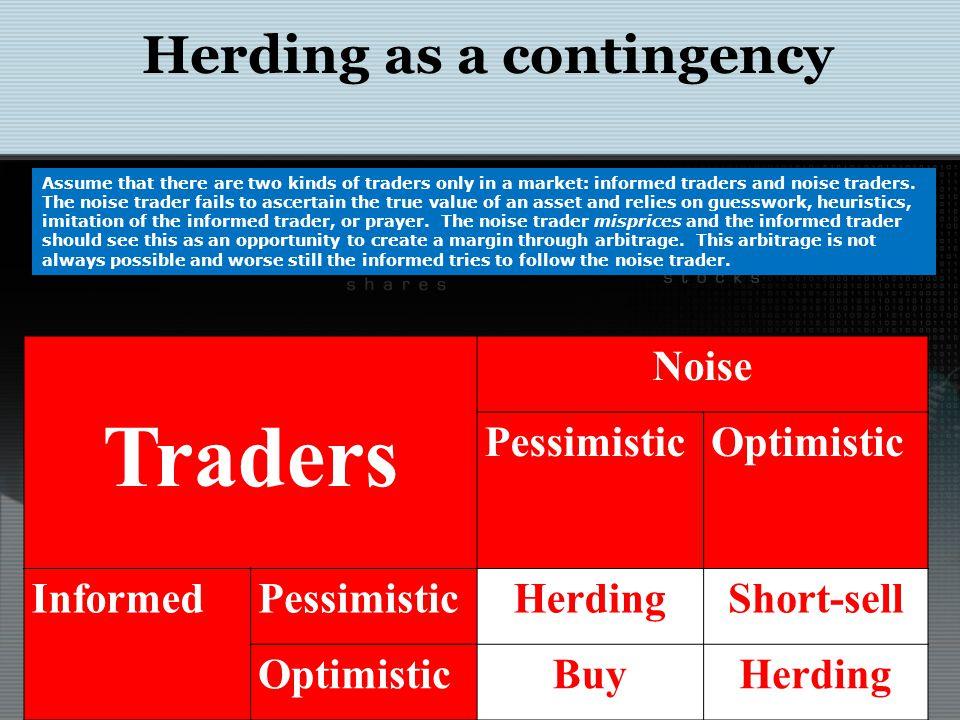 Herding as contingency: DSSW Model DeLong, B., A.Shleifer, L.