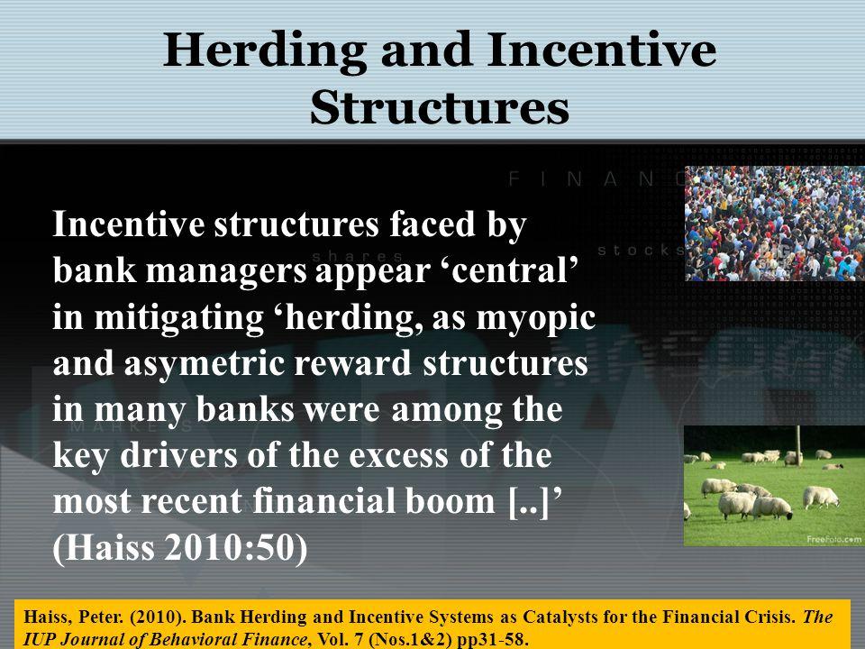 Herding Herds Shreds Commodity Markets http://nobelprize.org/nobel_prizes/economics/laureates/2002/smith-lecture.pdf