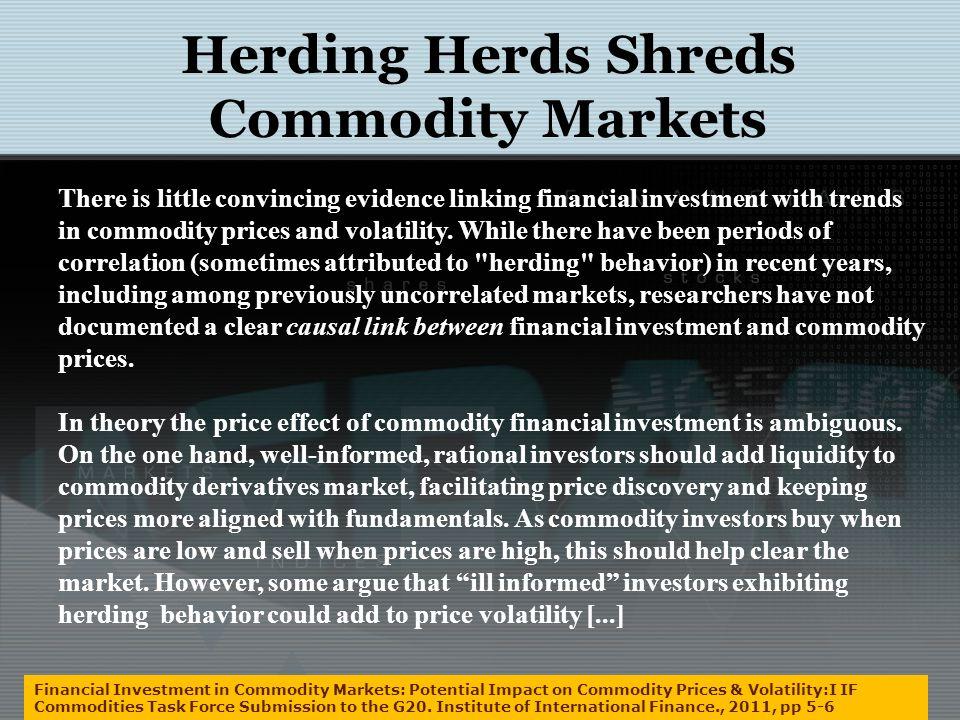 Herding Across Financial Markets