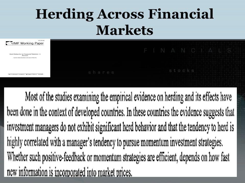 Herding in Financial Markets Long-Term Capital Management L.P.