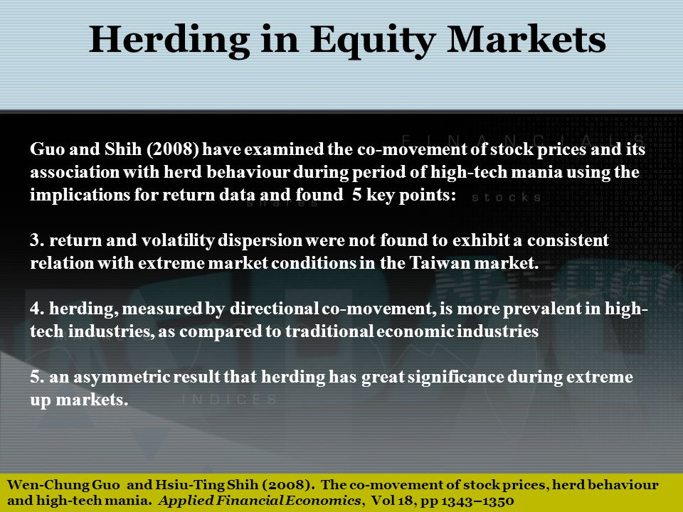 Herding Herds Shreds Commodity Markets