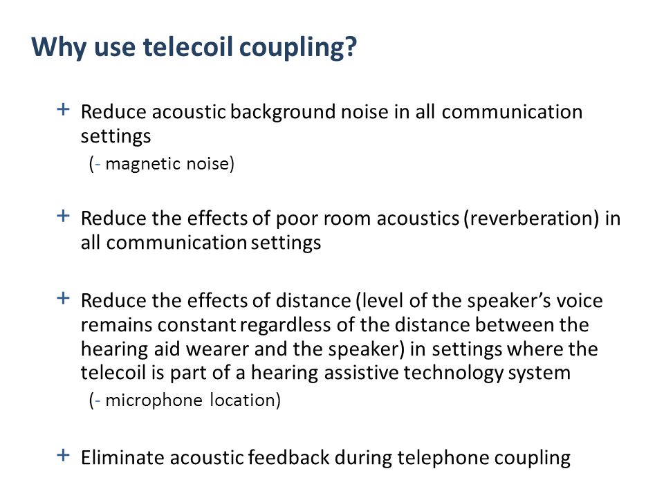 SPEECH noise reflected sound Induction Loop (IL) System T SPEECH Acoustic Loudspeakers