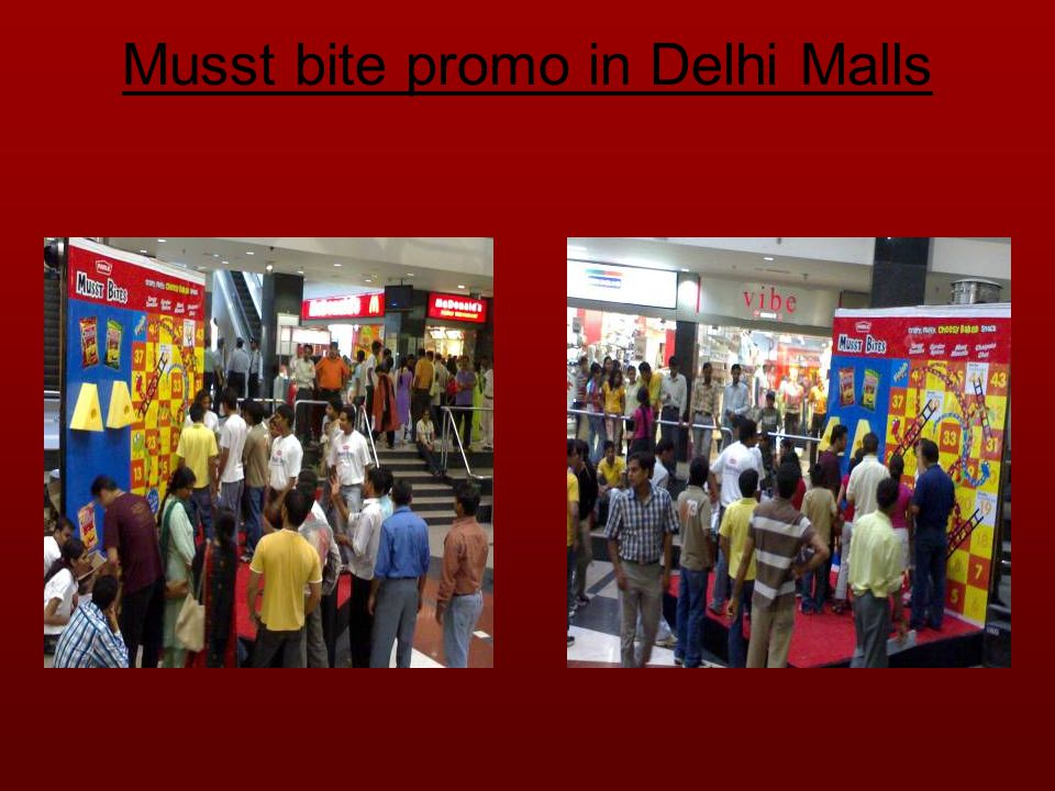Milano mall promotion