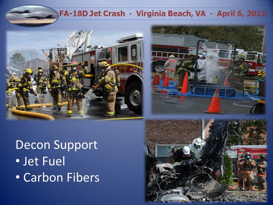 FA-18D Jet Crash Virginia Beach, VA April 6, 2012 Aftermath Investigation Remediation