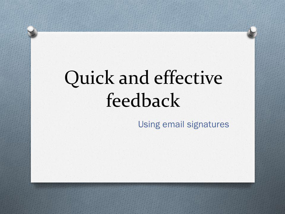 What do you do? O How do you give feedback and keep records of student achievement?