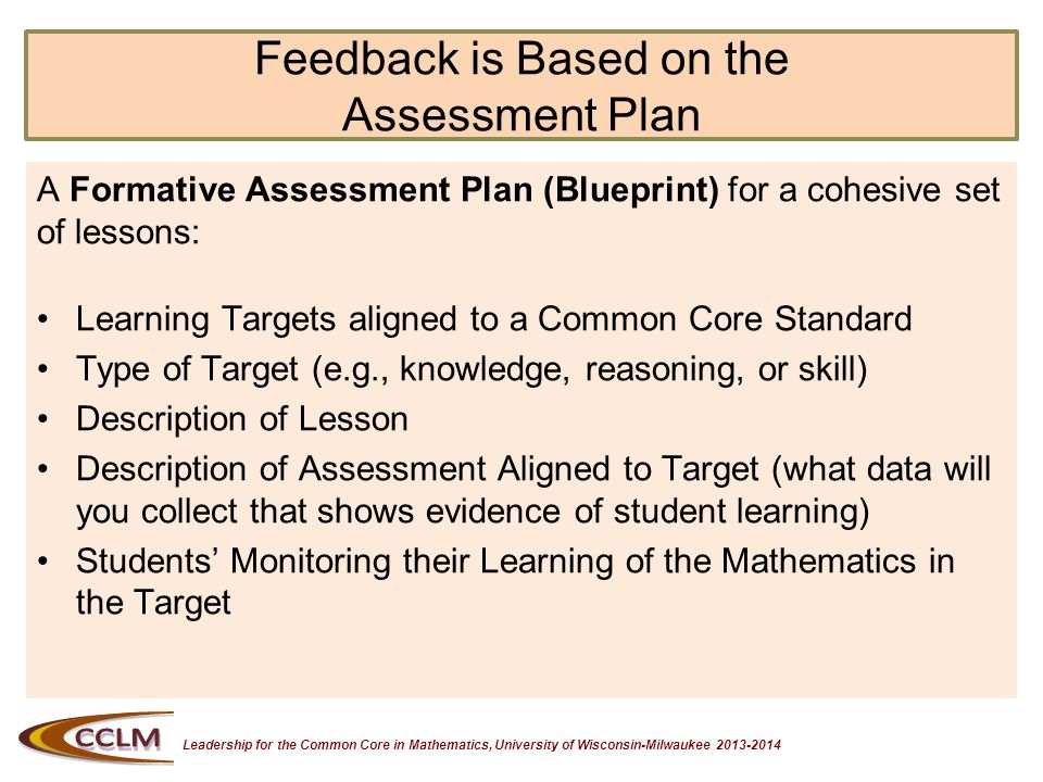 Leadership for the Common Core in Mathematics, University of Wisconsin-Milwaukee 2013-2014 What Does Research Say.