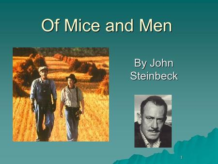 of mice and men power of Album of mice and men of mice and men: chapter 4 lyrics four crooks, the negro stable buck, had his bunk in the harness room a little shed that leaned off the wall of the barn  of mice and.