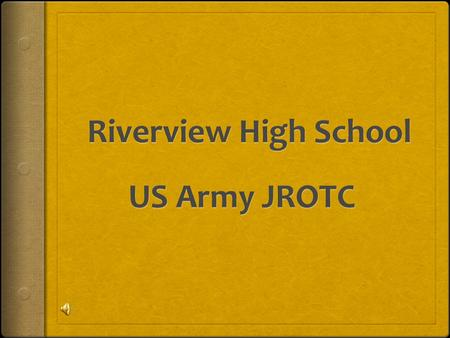 The Cadet Creed I am an Army Junior ROTC Cadet. I will always conduct myself to bring credit to my family, country, school and the Corps of Cadets. I.