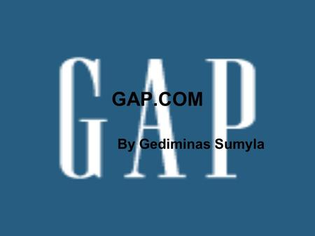 gap inc vision and mission Gap inc is a leading international specialty retailer offering clothing, accessories and personal care products for men, women, children and babies under the gap.