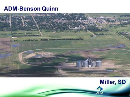 1 ADM-Benson Quinn Miller, SD. 2 The Land of Plenty? A Grain Market Outlook Kim Rugel, Benson Quinn Commodities, Inc. Futures and options trading involve.