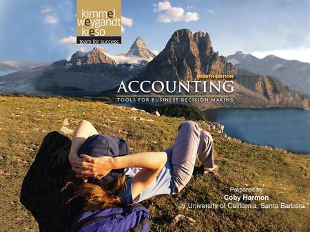 3-1. 3-2 THE ACCOUNTING INFORMATION SYSTEM Accounting, Fourth Edition 3.