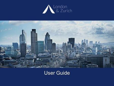 User Guide. Service Benefits  Full on-line management of client accounts  Paperless direct debit – no signatures required  Standing orders fixed not.