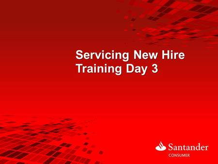 Servicing New Hire Training Day 3. 2 Training Agenda Day 3: Day 2 Review Intro to Adding Notes Intro to PTP Guidelines/ CBT Payment Options Intro to Speedpay/Speedpay.