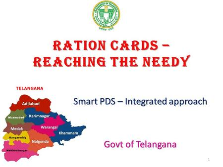 Ration cards – Reaching the needy