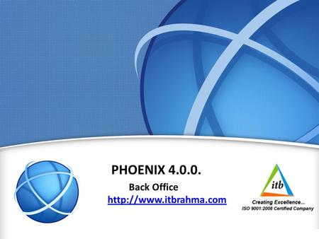 1 PHOENIX 4.0.0. Back Office