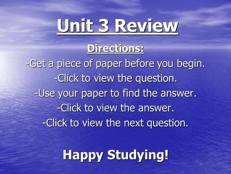 unit 3 review G_ca_unit_3_testpdf: file size: 92 kb : file type: pdf: download file video g_unit_3_reviewmp4: file size: 9210 kb: file type: mp4: download file leave any.