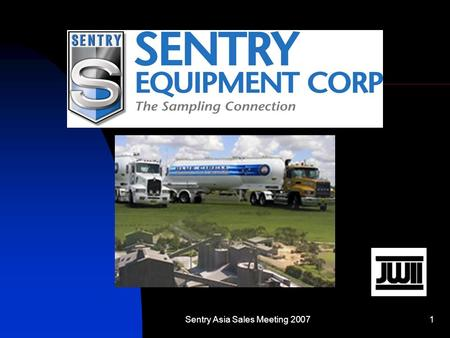 Sentry Asia Sales Meeting 20071. 2 Introduction Provide Sampling solution for Blue Circle Southern Cement, Bulk and Bagging Plant. JW Industrial Instruments.