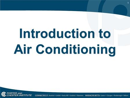1 Introduction to Air Conditioning. 2 Heat Heat is a form of energy Objects that are hot have more heat energy than objects that are cold Heat flows from.