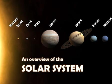 What do you know about the solar system? Have you come across the idea that there are many solar systems in the universe? Our solar system is the one.