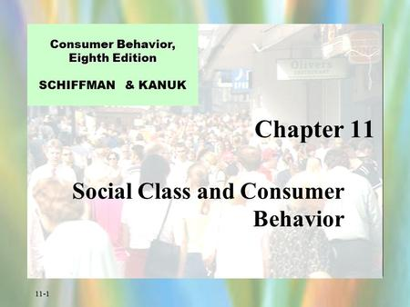 Social Class and Consumer Behavior