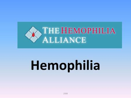 Hemophilia 2008. What is Hemophilia? Hemophilia is an inherited bleeding disorder in which there is a deficiency or lack of factor VIII or factor IX clotting.