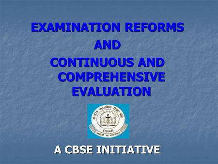 examination reforms For teachers only the university of the state of new york examination booklet • thoroughly develops all aspects of the task evenly and in depth by identifying two reform movements that have had an impact on american life.