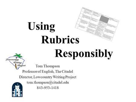 generic dbq essay rubric