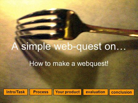 how to create a webquest for students