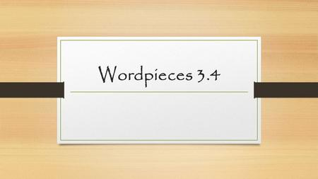 Wordpieces 3.4. Root: sequi/sec to follow inconsequential Adjective Having no effect or importance Synonym: trivial; minor Antonym: essential.