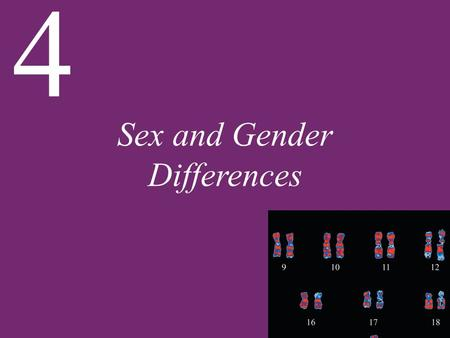 Sex and Gender Differences