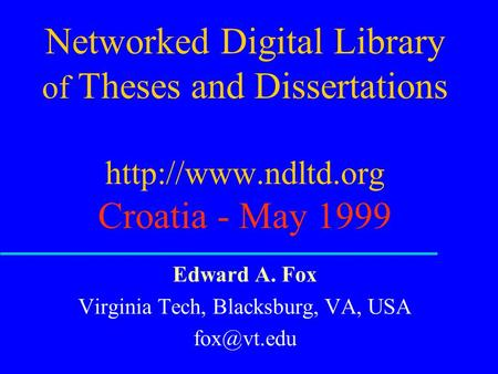 networked digital library of theses and dissertations scirus Elsevier announces winners of the ndltd-etd  (networked digital library of theses and  about the networked digital library of theses and dissertations.