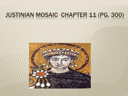  Main Idea: After Rome split, the Eastern Empire (Byzantium) flourished for a millennium!  Why It Matters Now: Byzantine culture deeply influenced Orthodox.