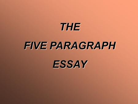 I am writing an essay an i need three subtopics?