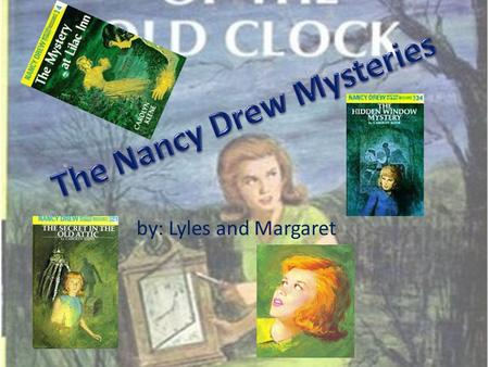 by: Lyles and Margaret About the Series next Favorite Books Click on the books to hear about them next.