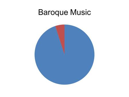 Baroque Music. The Classical Era The Romantic Era.