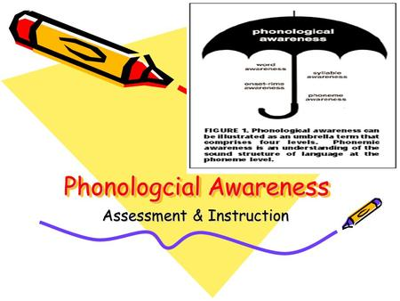 Phonologcial Awareness Assessment & Instruction. Model of Silent Reading Comprehension (K. Erickson, based on Cunningham, 1993) Word Identification Automatic.