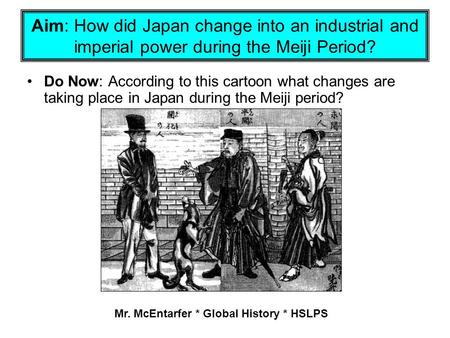 Mr. McEntarfer * Global History * HSLPS