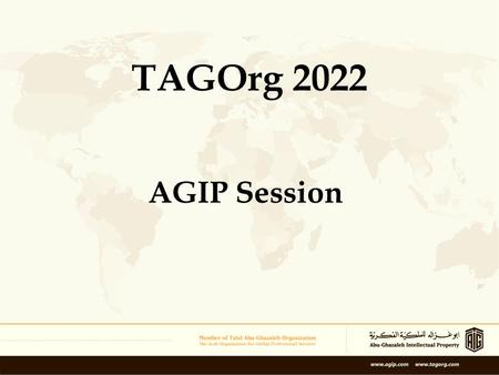 AGIP Session TAGOrg 2022. Welcome Keywords: –Passion –Future –Leader –Development –… Some info about: Losing clients, common mistakes, writing & style.