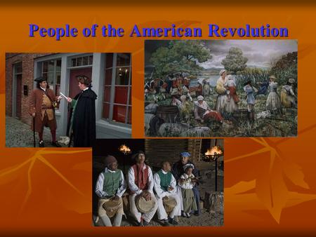 People of the American Revolution. Samuel Adams : Patriot Founder of the Sons of Liberty Founder of the Sons of Liberty Began Committees of Correspondence.