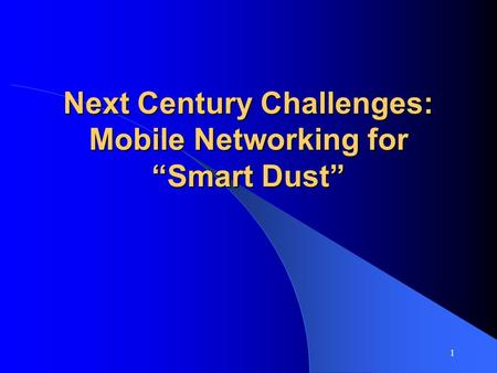 Gsm architecture in mobile computing