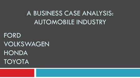 jolson automotive case analysis Dan r's automotive in oregon, ohio generated $14,400 using directmail20 as their new marketing campaign check out their mailing schedule and the results here.
