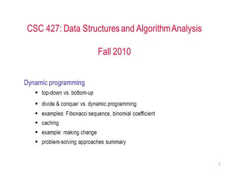Fundamental Data Structures And Algorithms Ananda Guna March 18