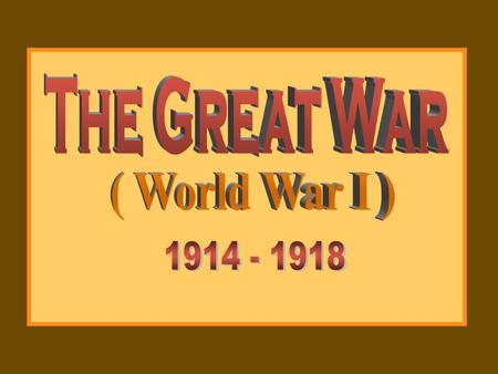 the role of imperialism revolution and nationalism in the start of world war i Imperialism and imperial rivalry provided both a cause and context for world war  along with rising nationalism and revolutions in ottoman-controlled regions,.