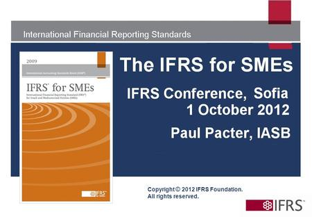 Copyright © 2012 IFRS Foundation. All rights reserved.