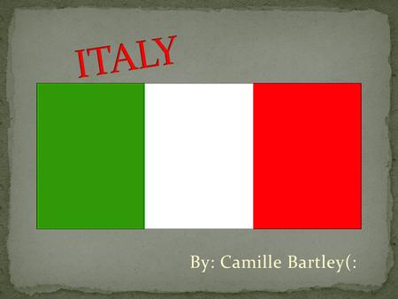 By: Camille Bartley(:. Italy has been a democratic republic since June 2, 1946, when the monarchy was abolished by popular referendum. The constitution.