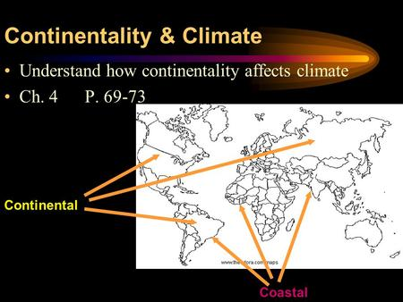 Continentality & Climate