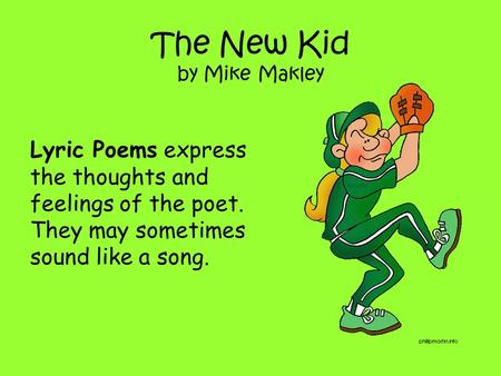 The New Kid by Mike Makley