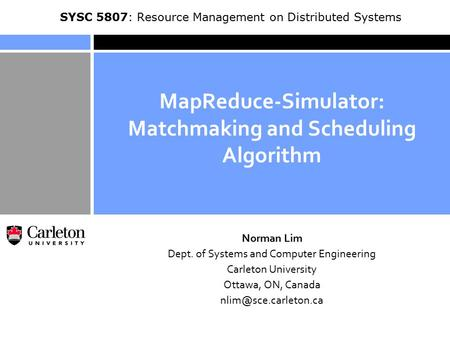 Overview of Matchmaking and Scheduling (Mapping) Algorithm