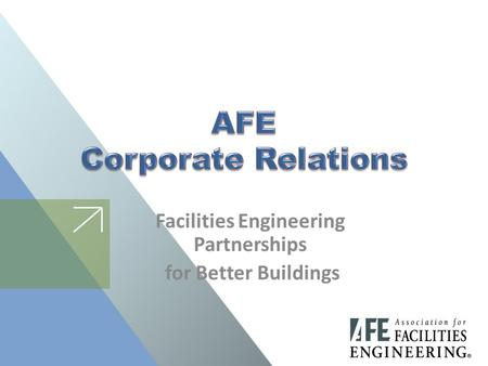Facilities Engineering Partnerships for Better Buildings.