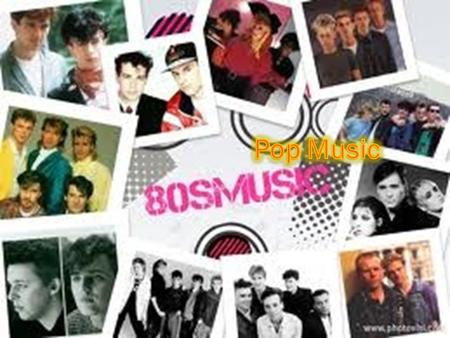 In the 80s!  Disco is falling out of the scene as the premier music genre  Rock music was still fairly popular  Pop, dance music and New Wave were.